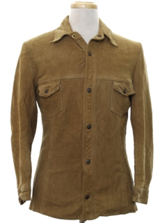 1960's Mens Suede Leather Jacket
