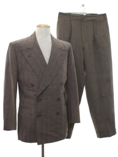 1940's Mens Fab Forties Combo Suit