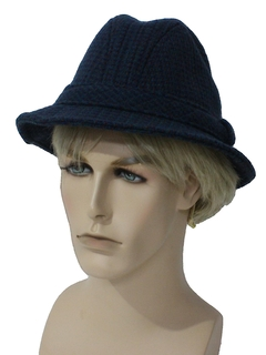 1980's Mens Accessories - Wool Pendleton Hat