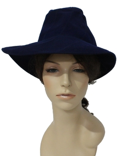 1940's Womens Accessories - Wool Hat