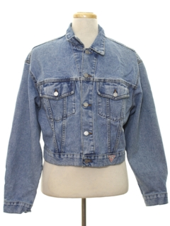 1980's Unisex Totally 80s Guess Denim Jacket