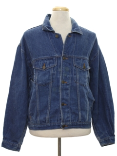 1990's Mens Hemp Denim Jacket