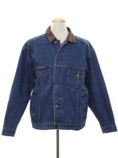 1980's Mens Denim Jacket