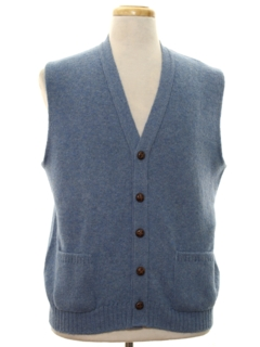 1980's Mens Golf Style Sweater Vest