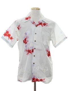 1980's Mens Hawaiian Shirt