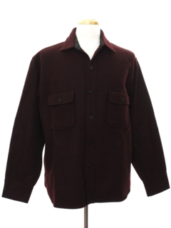 1950's Mens Wool CPO Shirt Jacket