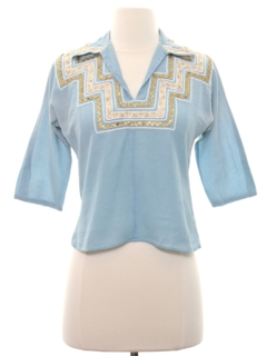 1960's Womens/Girls Western Shirt