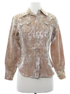 1950's Womens Western Shirt