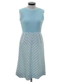 1970's Womens Mod Knit Dress