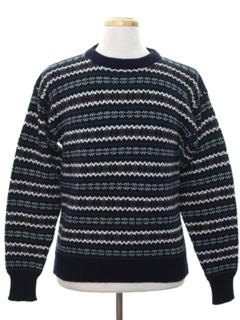 1980's Mens Ski Sweater