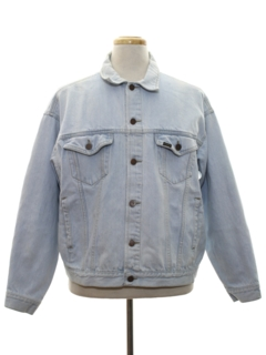 1980's Mens Stone Washed Denim Jacket
