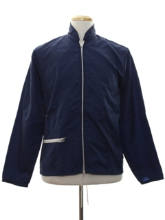 1960's Mens Mod Wind Breaker Zip Jacket