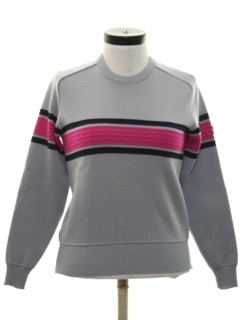 1980's Womens/Girls Ski Sweater