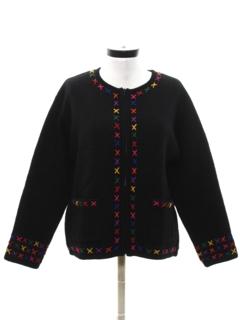 1980's Womens Cardigan Sweater