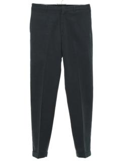 1960's Mens Mod Flat Front Pants