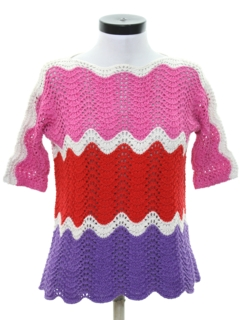 1980's Womens Hippie Sweater