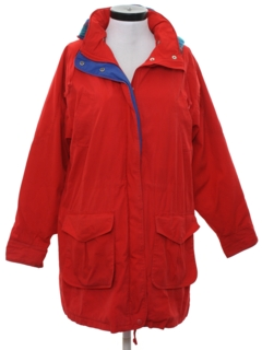 1980's Womens Car Coat Style Ski Jacket