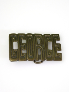 1970's Mens Accessories - Belt Buckle