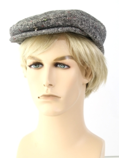 1980's Mens Accessories - Pageboy Hat