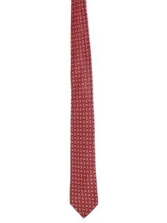 1950's Mens Geometric Necktie
