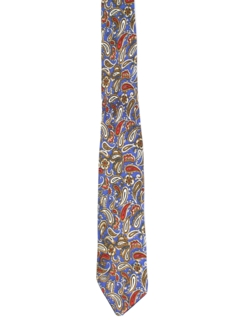 1960's Mens Geometric Abstract Necktie