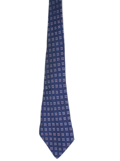 1940's Mens Wide Swing Abstract Geometric Necktie
