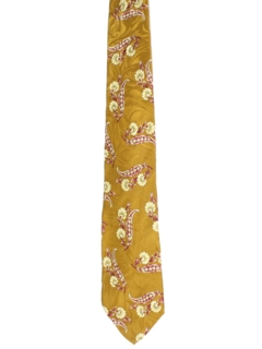 1980's Mens Wide Swing Necktie