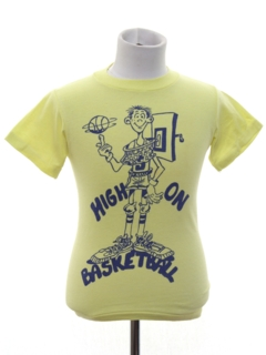1980's Mens/Boys Sports T - shirt
