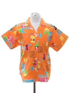 1980's Mens/Boys Totally 80s Shirt