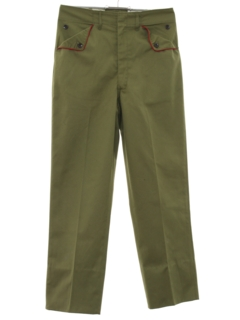 1960's Mens/Boys Boy Scout Slacks Pants