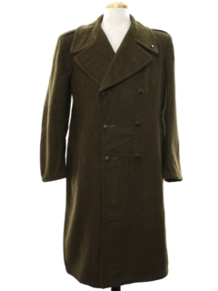 1930's Mens WW2 British RAF Airforce Wool Military Jacket
