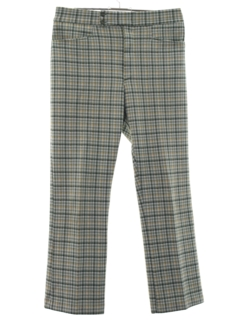 Mens Vintage Plaid Pants at RustyZipper.Com Vintage Clothing
