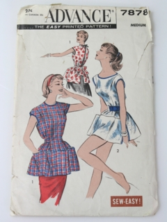 1950's Womens Apron Pattern