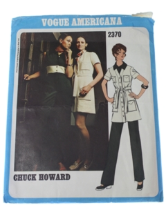 1960's Womens Designer Pattern*