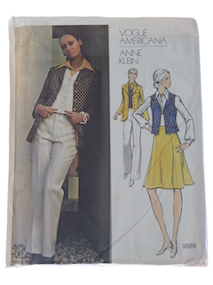 1970's Womens Designer Pattern*