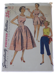 1950's Womens or Girls Pattern