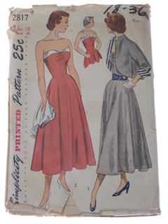 1940's Womens Designer Style Pattern