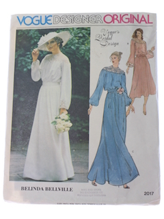 1980's Womens Bridal Pattern*