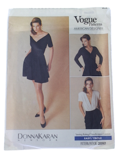 1980's Womens Designer Pattern*