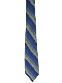 1950's Mens Diagonal Stripe Necktie