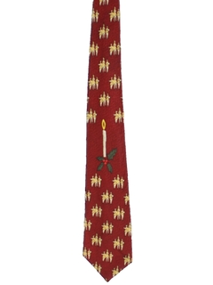 1950's Mens Christmas Necktie