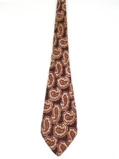 1950's Mens Wide Paisly Swing Necktie