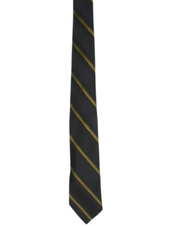 1960's Mens Diagonal Striped Necktie