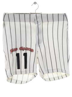 1970's Mens Baseball Sports Shorts