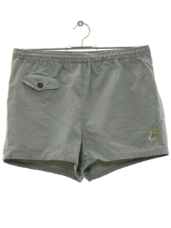 1940's Mens Mens Swim Shorts