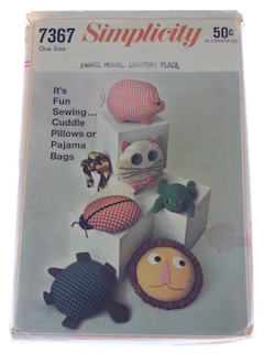 1960's Unisex Craft Pattern