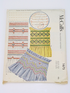 1950's Craft Pattern