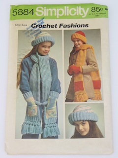 1970's Womens/Girls Craft Pattern