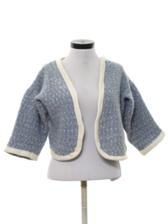 1960's Womens Pendleton Wool Bolero Sweater
