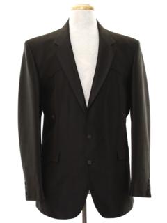 1980's Mens Western Style Blazer Sport Coat Jacket